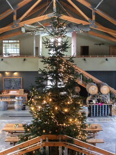 Decked halls for the 2017 Holiday Season at Lady Hill Winery