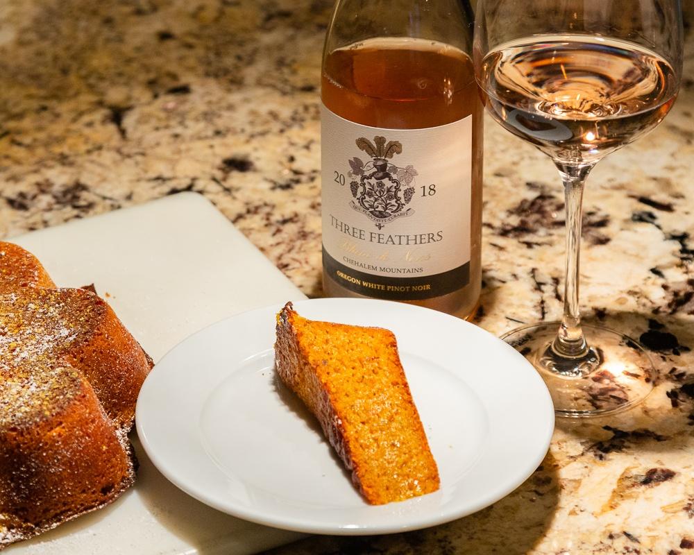 Parma Style Carrot Cake - Recipe Giada de Laurentis